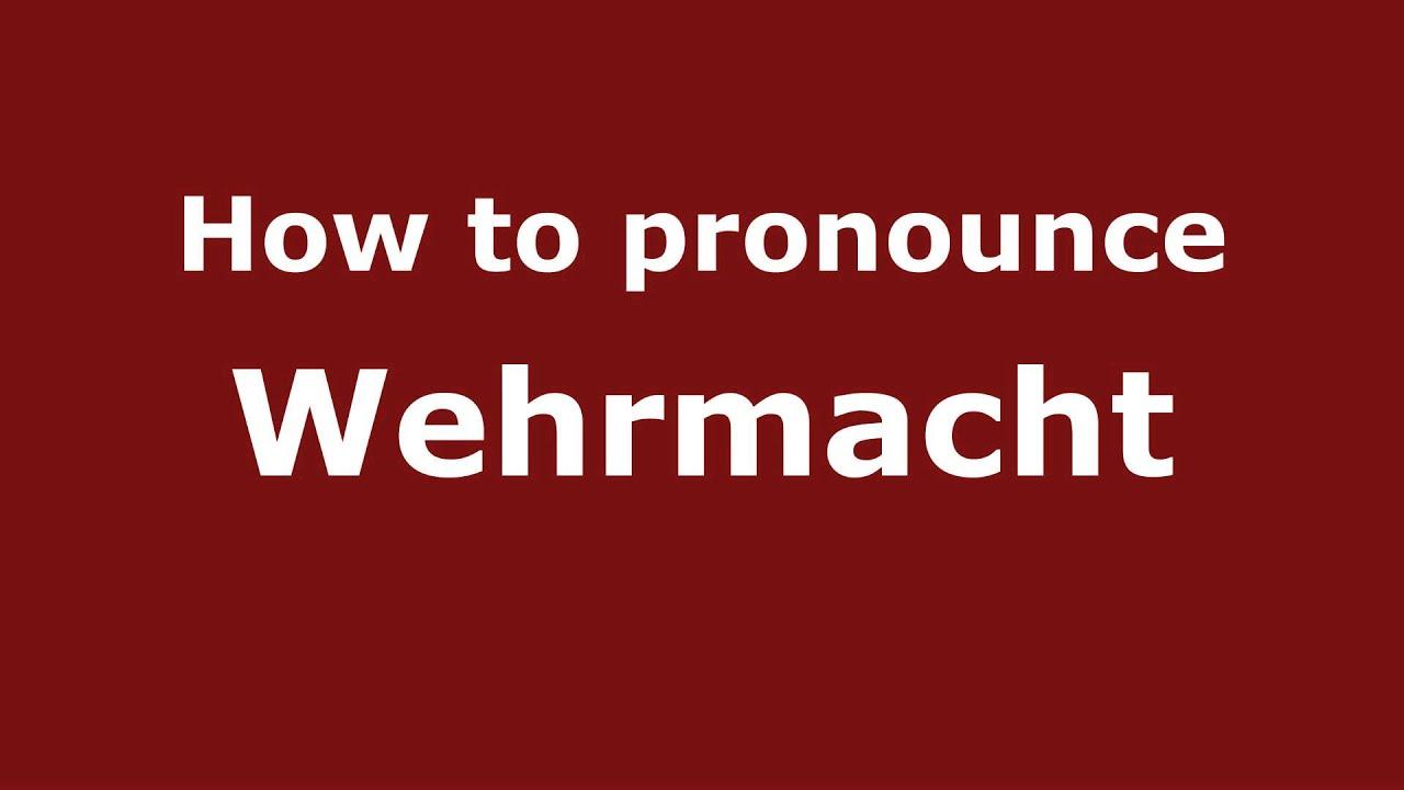 Wehrmacht definition simple