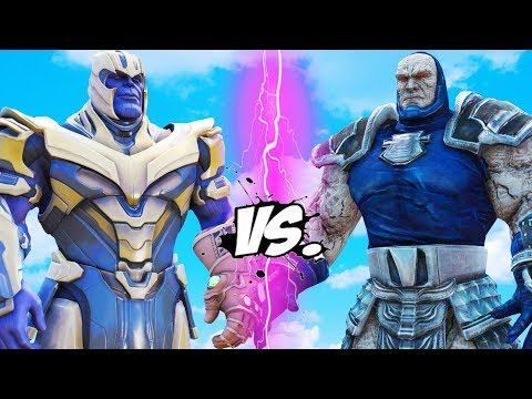 THANOS vs DARKSEID - Epic Battle | Thanos Fortnite