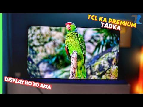 "tcl-65""-qled-4k-premium-smart-tv🔥---unboxing-&-hands-on-|-is-tv-ne-sabko-dho-dala-💪"