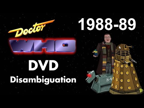 Doctor Who DVD Disambiguation - Season 25 (1988-89)