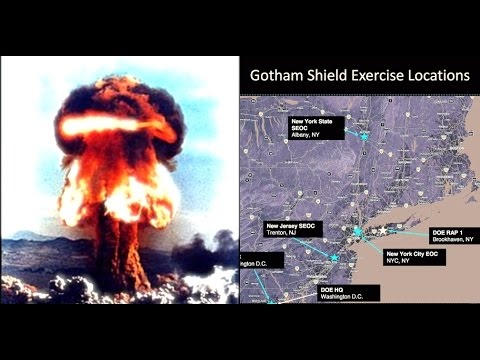 Massive Nuclear Drill in NY/NJ Operation Gotham Shield, Media Silent