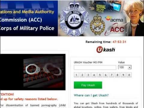 How To Remove Australian Communications And Media Authority Virus