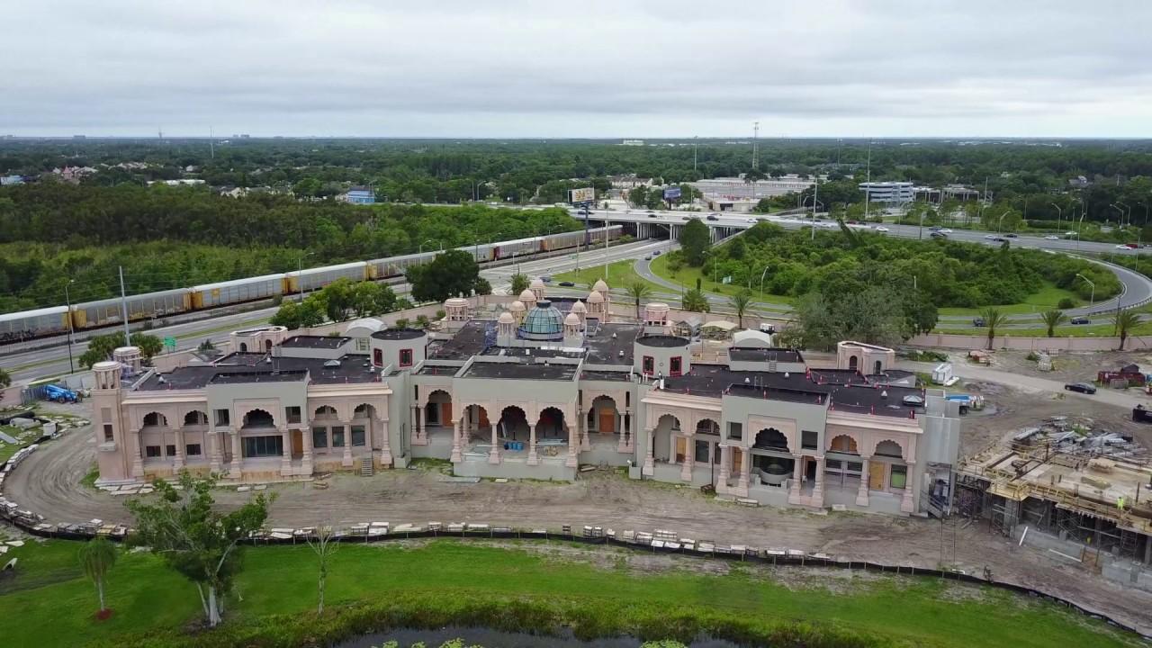 Mega mansion being built in tampa florida filmed with dji for Mega mansions in florida