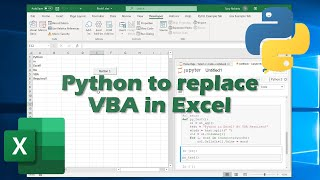 Python To Replace VBA In Excel