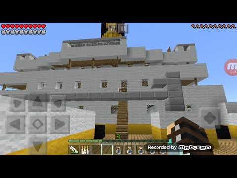 Титаник в Майнкрафте часть 1