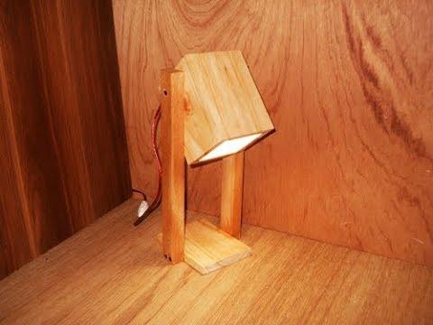 Cara Membuat Lampu Belajar Dari kayu