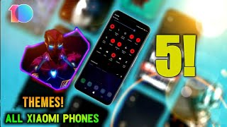 Top 5 New Best MIUI 10 Themes || All Xiaomi Phones || Perfect Theme In MIUI 10