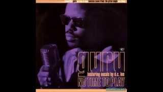 Guru - No Time To Play (Karim Play Time Version)Freebie