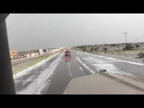 I Survived the Hail Storm of New Mexico,tornado like winds Vega Tx, flooding in Amarillo, Tx DAM N!