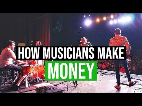 Touring Musician   How I Make Money