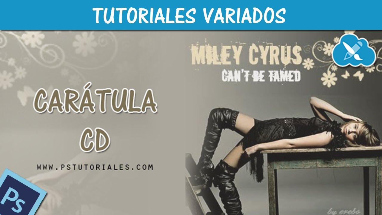 Crear portada de CD - Photoshop Tutorial Español - YouTube