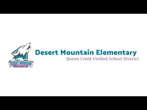 TIME TO ENROLL: Desert Mountain Elementary School