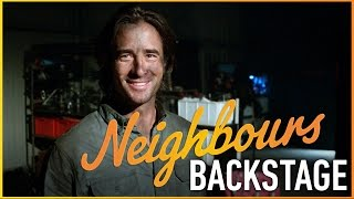 Neighbours Backstage - The Fire Part 1