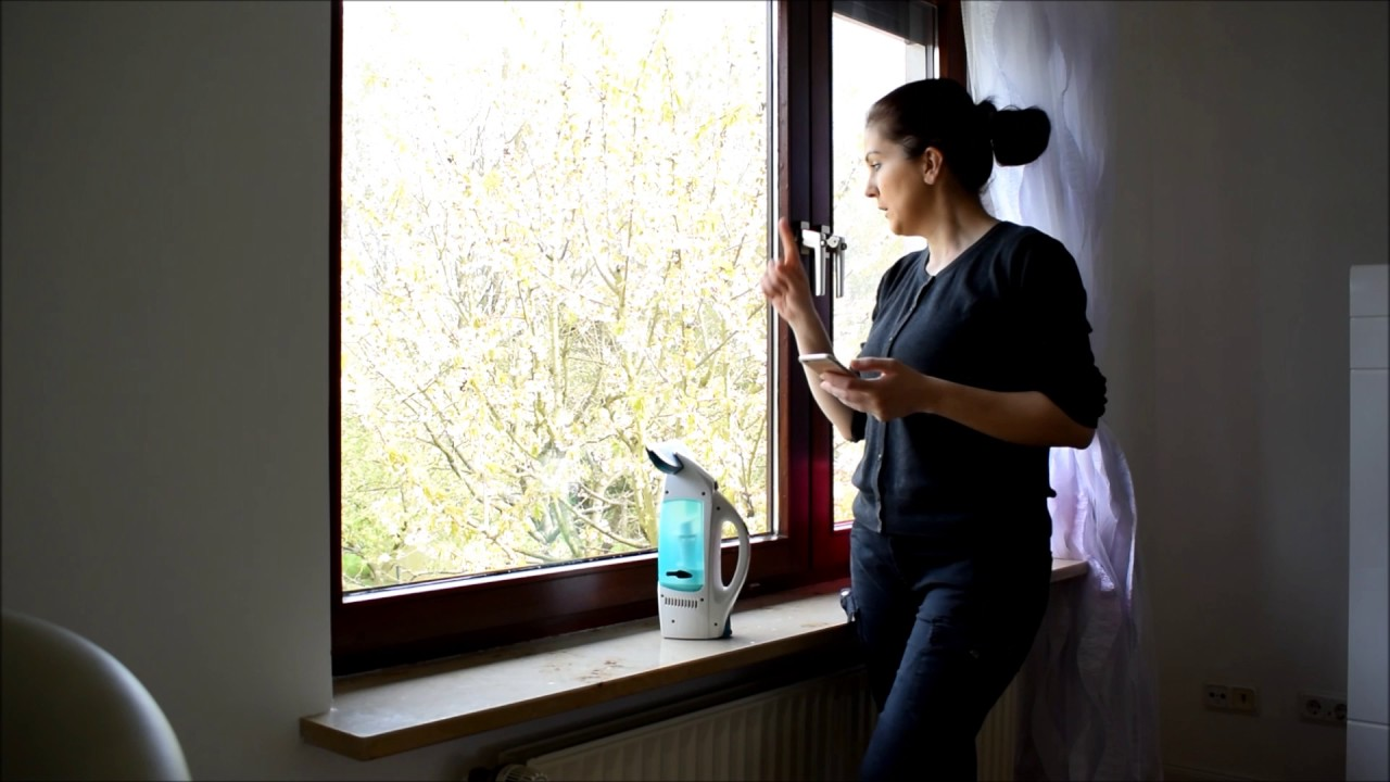 Leifheit fenstersauger dry clean im test youtube