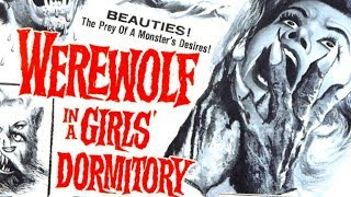 WEREWOLF IN A GIRLS' DORMITORY // Full Horror Movie // Barbara Lass // HD // 720p // English