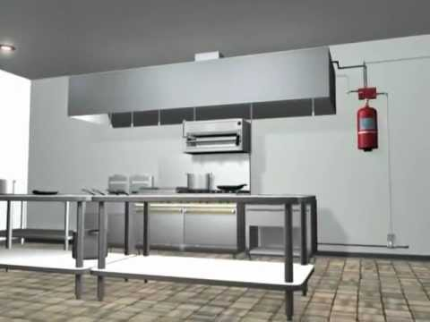 Merveilleux Kitchen Knight II Fire Supression System From Pyro Chem