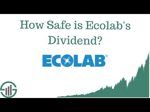 How Safe is Ecolab's Dividend?