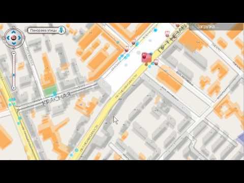 видео: Интерактивная карта Минска на Interfax.by-Карты