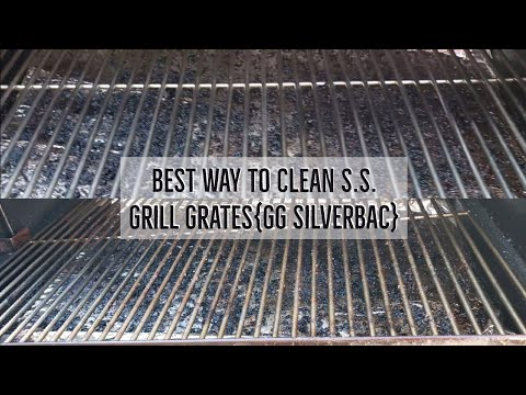 Clean Stainless Steel Grill Grates
