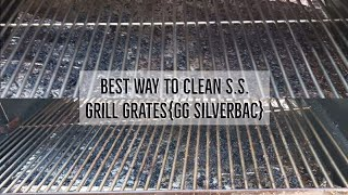 The Best Way To Clean Stainless Steel Grill Grates{GG SilverBac}