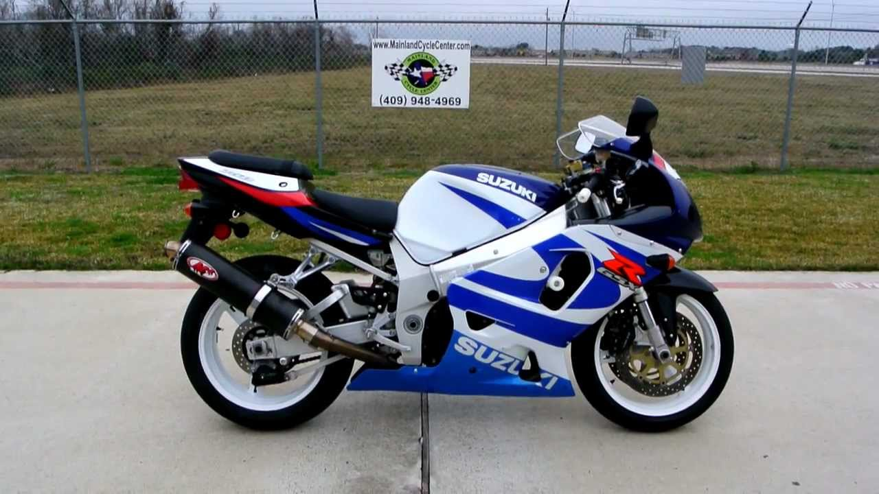 2000 suzuki gsxr 750 classic white and blue overview. Black Bedroom Furniture Sets. Home Design Ideas