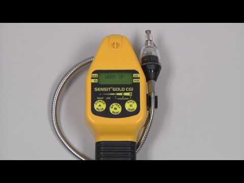 SENSIT GOLD CGI Combustible Gas Indicator Quick Start Guide