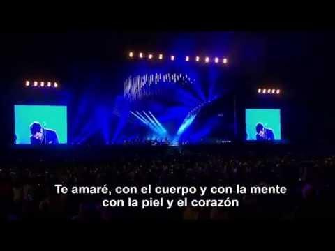 MI SOLEDAD Y YO (Letra) - Alejandro Sanz en vivo.