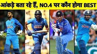 MUST WATCH: World Cup में कौन सा बल्लेबाज़ No.4 पर होगा FIX? Sports Tak