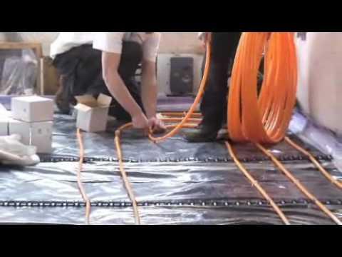 Underfloor Heating Information, Instruction & Tips - How to Install