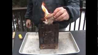 Firebox Stove Barbecue Venison Burger