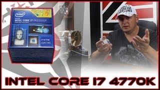 unboxing recenzija test intel core i7 4770k vs amd 8350 vs intel core 3770k