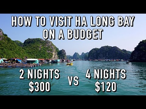 HOW TO VISIT HA LONG BAY WITHOUT AN EXPENSIVE TOUR!