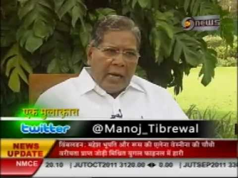 Manoj Tibrewal Aakash Interviewed Mr. K. Rahman Khan for DD News's Ek Mulaqat