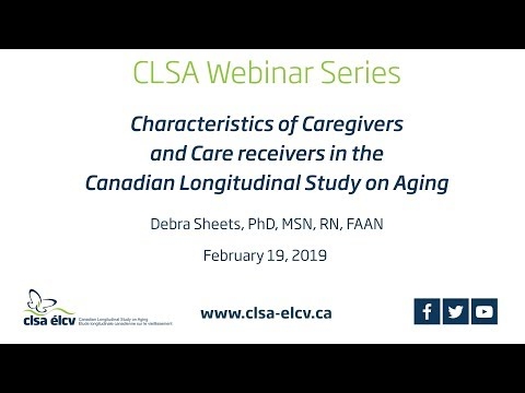 Characteristics Of Caregivers And Care Receivers In The Canadian Longitudinal Study On Aging (CLSA)