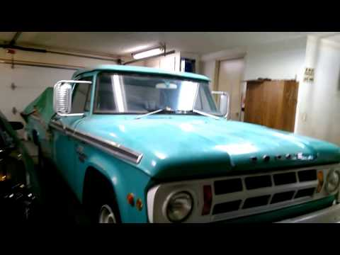 1968 Dodge Pickup D-200 - Camper special with rare options.