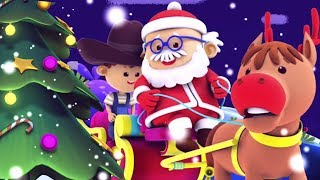 Lonceng Jingle   Lagu Natal   Video untuk anak anak   Christmas Rhymes By Kids TV   Jingle Bells