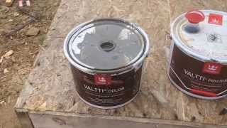 Как применять Tikkurila Valti color и  Pohjuste. How to apply Tikkurila Valti color and Pohjuste.(The use of impregnating Tikkurila Valti color Pohjuste priming and painting the lining of alder. Optimal combination. Применение пропитки Tikkurila Valti color и ..., 2015-08-15T06:07:05.000Z)