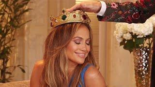 Jennifer López vivió un momento soñado al ser coronada por Osmel