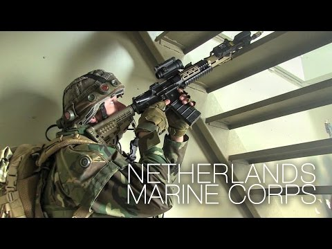 Royal Dutch Marines Quick Reaction Force Exercise