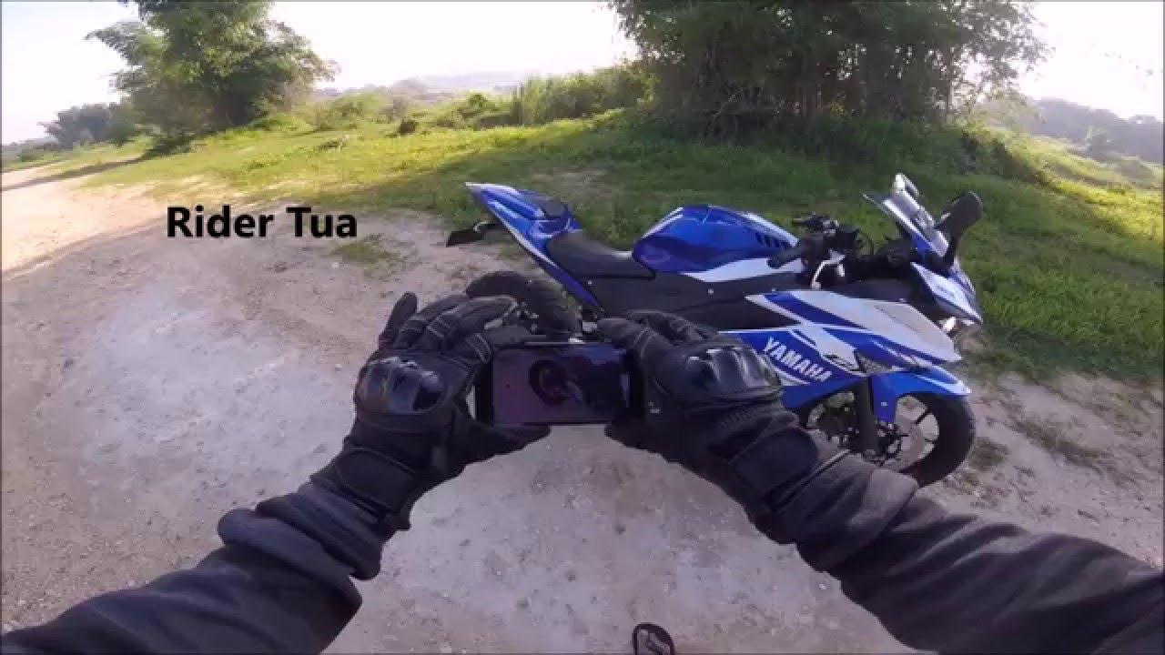 Rider Tua 3 Suara Knalpot R 25 Db Killer Prospeed Mf Black Series Yamaha New Vixion150 Full Request