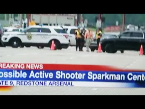Redstone Arsenal Active Shooter