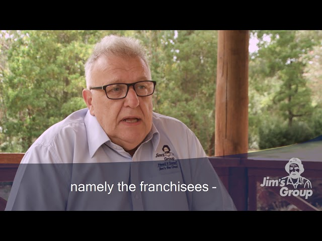 What income can a regional franchisor expect to earn with Jim's | 131 546 | www.jims.net