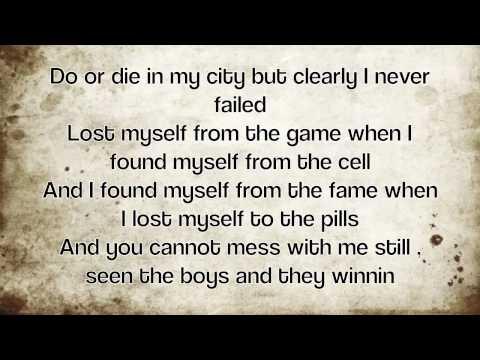 Machine Gun Kelly - Invincible (Lyrics on screen)