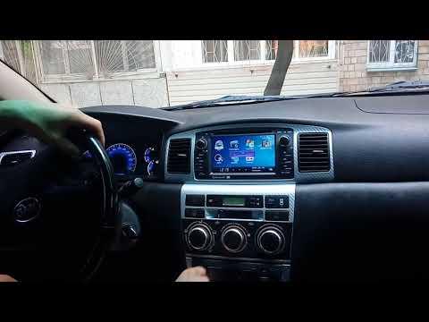 Штатная магнитола BYD F3,Toyota Corolla 120