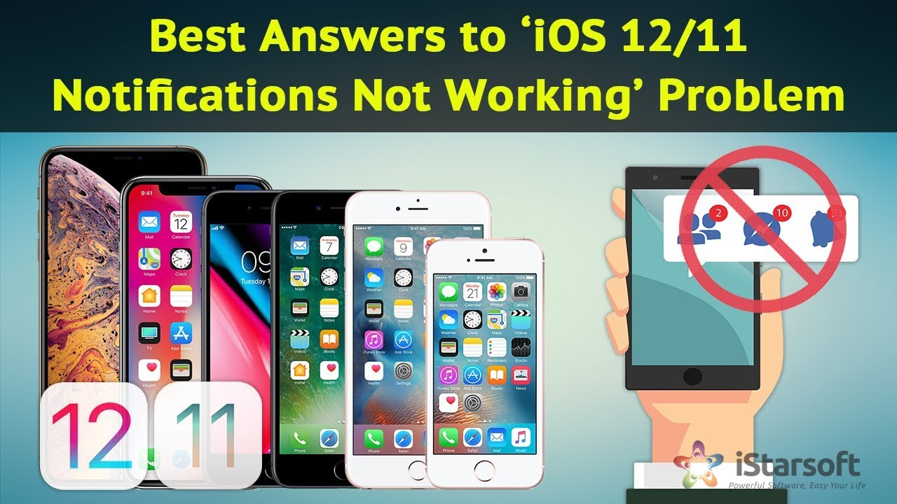 Best Answers to 'iOS 11 Notifications Not Working' Problem