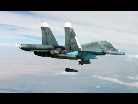 Rus Jetleri IŞİD Hedeflerini Böyle Vurdu