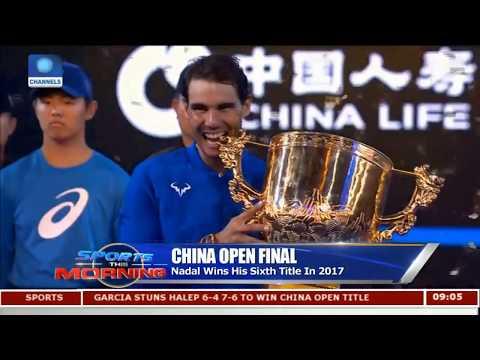 China Open Final Nadal Defeats Kyrgios 6 - 2 6 - 2