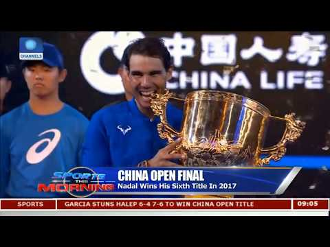 China Open Final Nadal Defeats Kyrgios 6 - 2 6 - 2