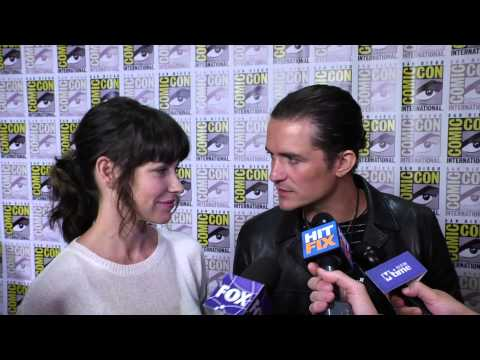 Thumbnail: Orlando Bloom and Evangeline Lilly on 'The Hobbit' and what they geek out for