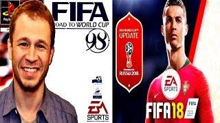 TIAGO LEIFERT FALA SOBRE O PRIMEIRO GAME LANÇADO PELA EA, COM A TEMÁTICA DE COPA DO MUNDO NO FIFA 18